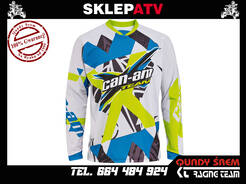 BLUZA BRP CAN-AM JERSEY X-RACE GREY 2865571209 XL