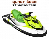 Sea-Doo GTI PRO 130 Rental iBR White - Krypton green