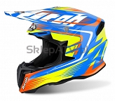 KASK AIROH TWIST MIX GLOSS  XL  TW_MX18_XL