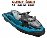 Sea-Doo GTX STD 155 Beach blue metallic - Lava Grey
