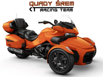Can-Am Spyder F3 LTD 1330 ACE SE6 Phoenix Orange Metallic (Dark)