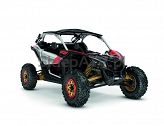 Can-Am Maverick Turbo R X RS Hyper Silver-Liquid Gold-Can-Am Red