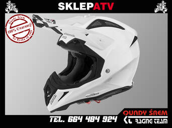 KASK AIROH AVIATOR 2.2 COLOR BLACK WHITE GLOSS L