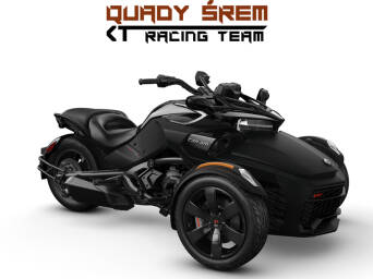 Can-Am Spyder F3 S 1330 ACE SE6 Monolith Black Satin