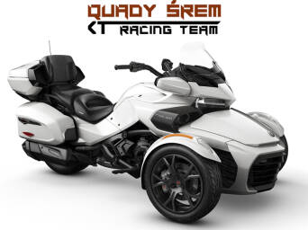 Can-Am Spyder F3 LTD 1330 ACE SE6 Pearl White (Dark)