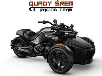 Can-Am Spyder F3 STD 1330 ACE SE6 Steel Black Metallic