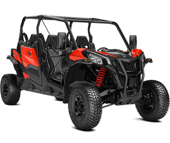 Can-Am Maverick Sport MAX 1000R DPS Black-Can-Am Red T 2020