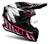 KASK AIROH TWIST IRON PINK GLOSS M