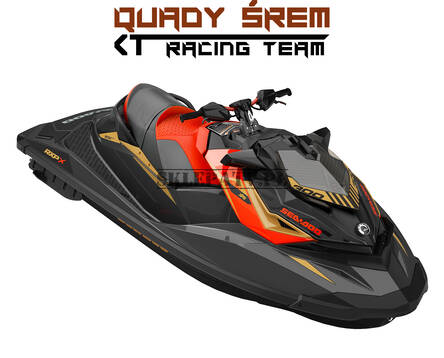 Sea-Doo RXP 300 X Eclipse Black - Lava