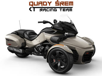 Can-Am Spyder F3 T 1330 ACE SE6 Liquid Titanium