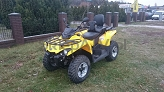 Can-Am Outlander 570 MAX DPS Yellow Homologacja T3 DEMO