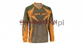 BLUZA BRP CAN-AM JERSEY brown  roz.L 2862370904