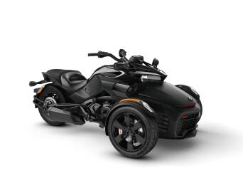 Can-Am Spyder F3 S 1330 ACE Monolith Black Satin 2021