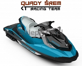 SEA-DOO GTI SE 155 SE Beach blue metallic - Lava Grey