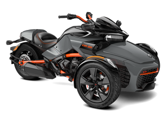 Can-Am Spyder F3 S 1330 ACE Gravity Grey - Special Series 2021